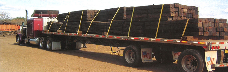 Used Railroad Ties | National Salvage & Service Corporation