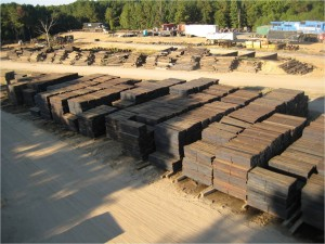 Railroad Tie Sales | National Salvage & Service Corporation