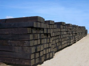 New Railroad Ties National Salvage Amp Service Corporation
